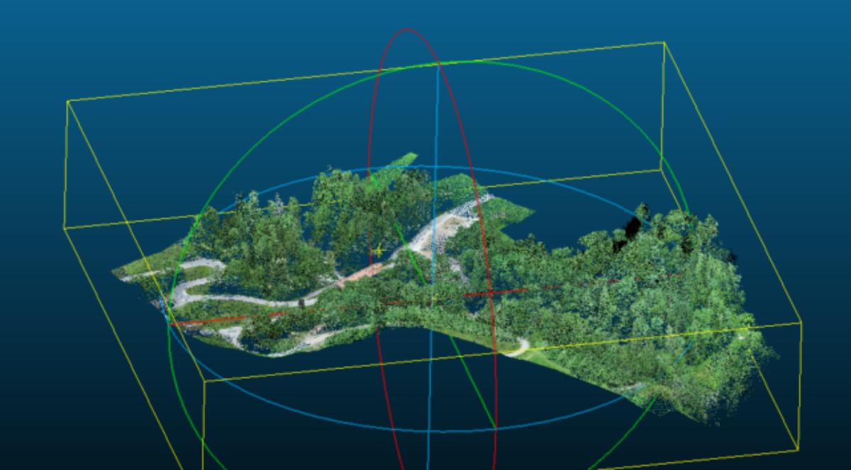 Vergleichsmessung Zenmuse L1 / P1 / Geometer