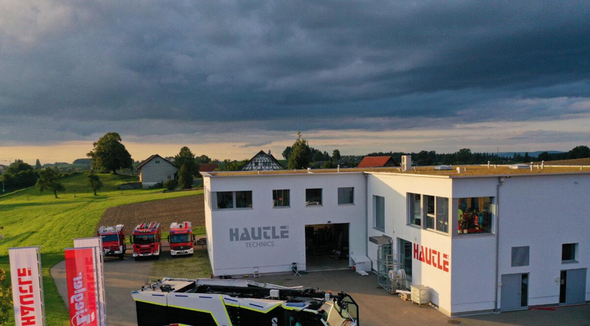 Die Gallus Hautle AG und Remote Vision GmbH unterstüzten die Feuerwehren mit bester Ausrüstung.